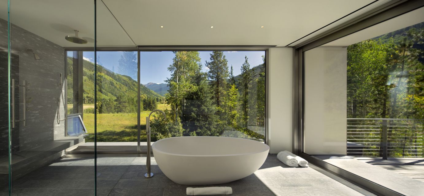 Independence Pass Residence © Nic Lehoux Photography