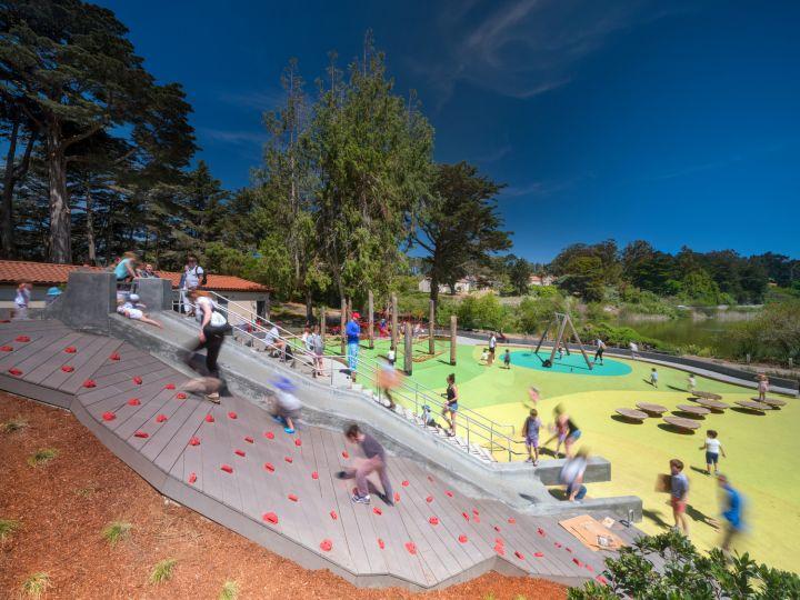 Mountain Lake Park Playground