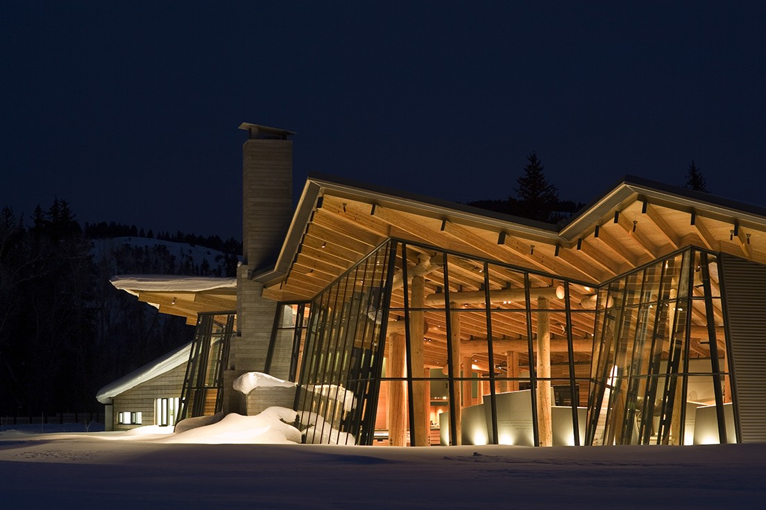 Grand Teton Visitor Center © Nic Lehoux Photography