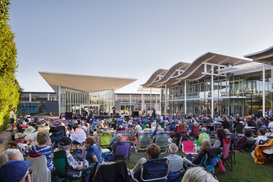 Newport Beach Civic Center © Pentaprism Studio