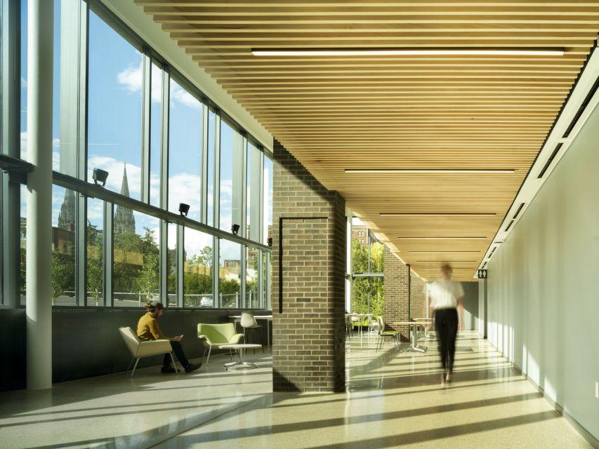 TCS Hall © Nic Lehoux Photography
