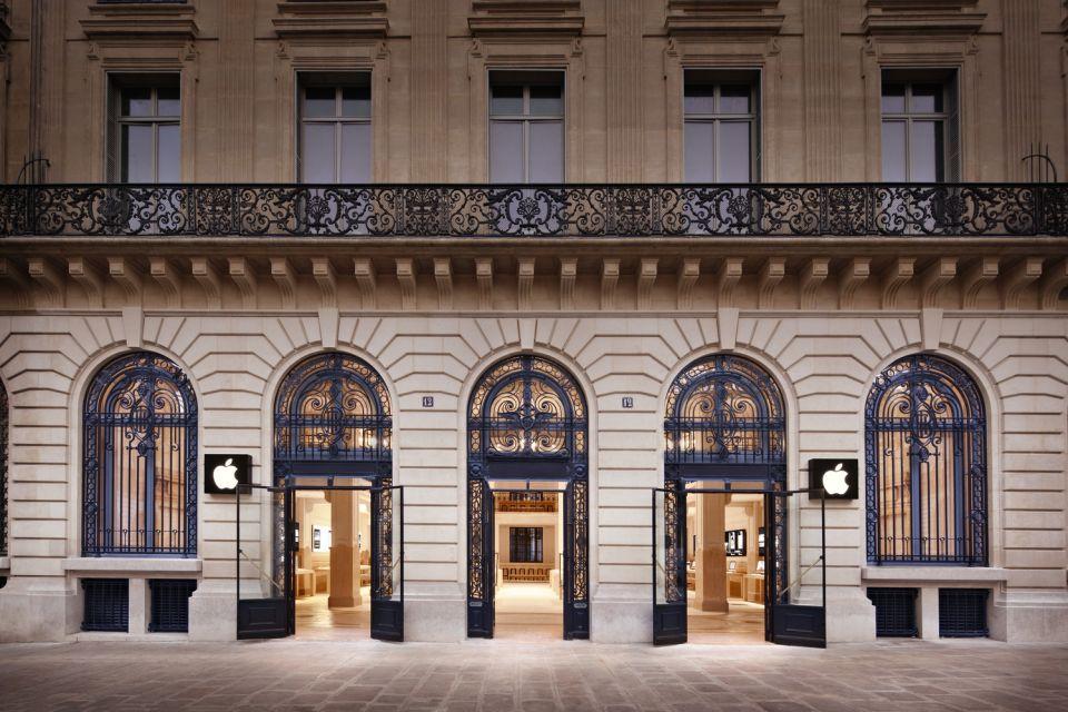 Apple Store Paris © Roy Zipstein