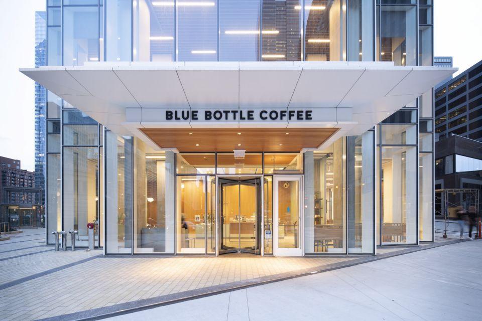 Blue Bottle Wolf Point © Bohlin Cywinski Jackson, photo by Daniel Lee