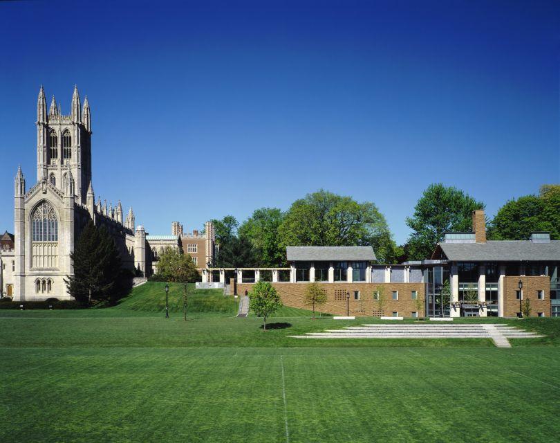 Trinity College Admissions Building, Hartford, Connecticut © Bohlin Cywinski Jackson