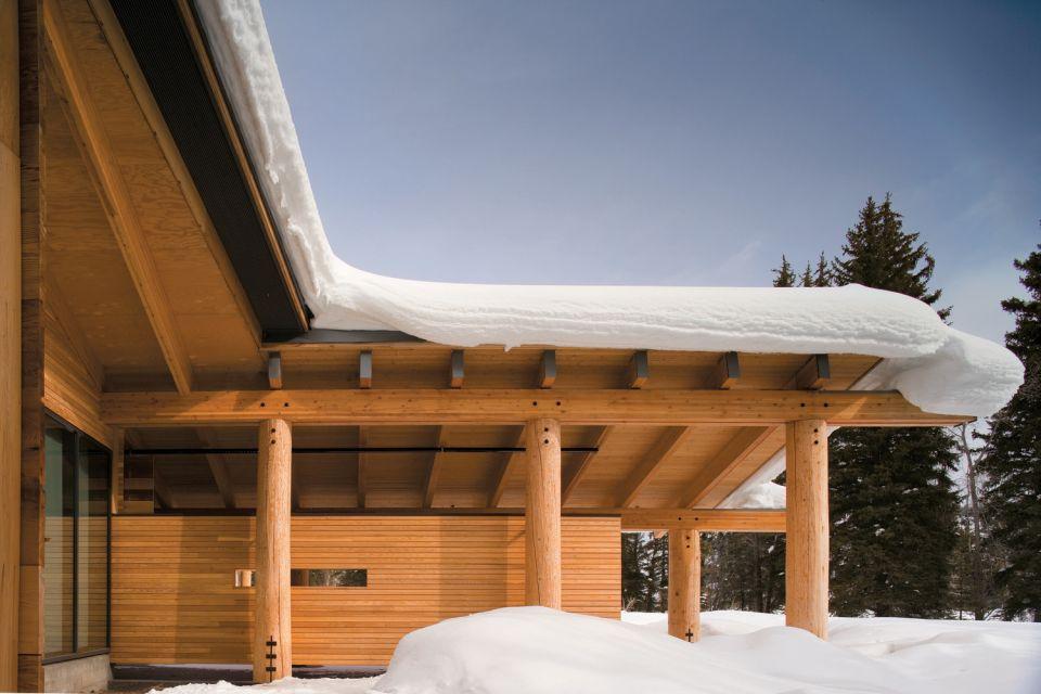Grand Teton Visitor Center © Nic Lehoux
